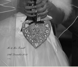 Mr &amp; Mrs Foxall 29th December 2012
