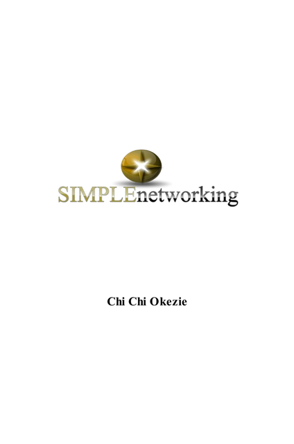 SIMPLEnetworking