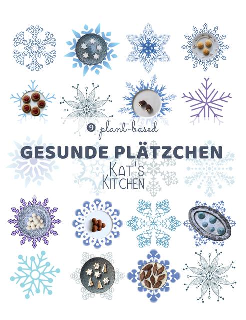 plant-based 9 gesunde Plätzchen