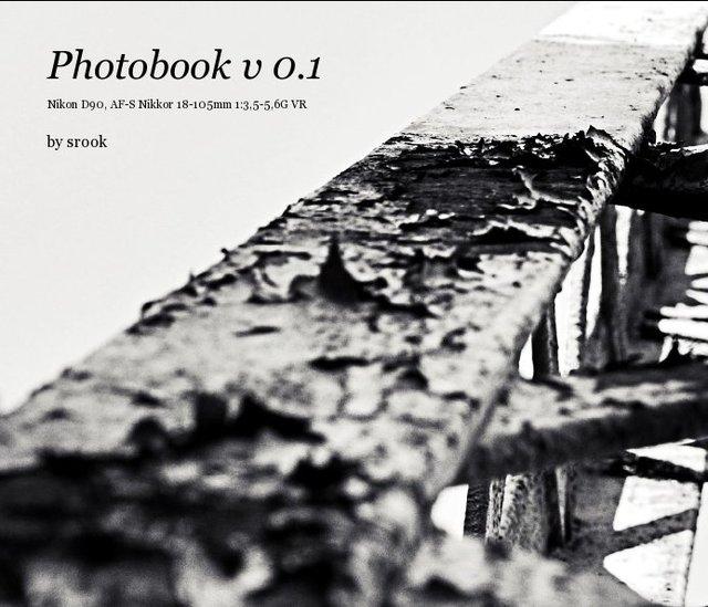 Photobook v 0.1