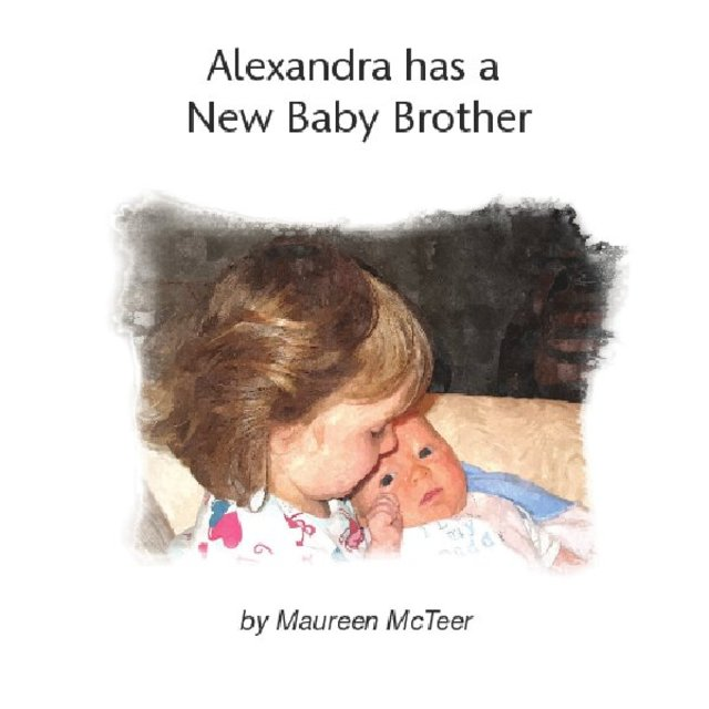 Alexandra Has a New Baby Brother