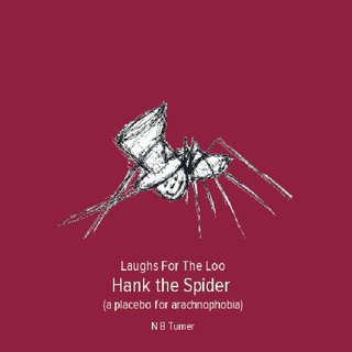 Laughs For The Loo Hank the Spider (a placebo for arachnophobia)