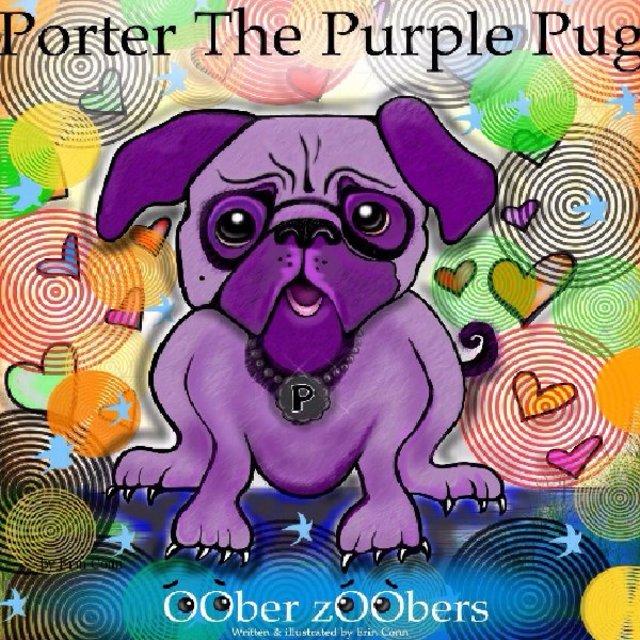 Porter The Purple Pug