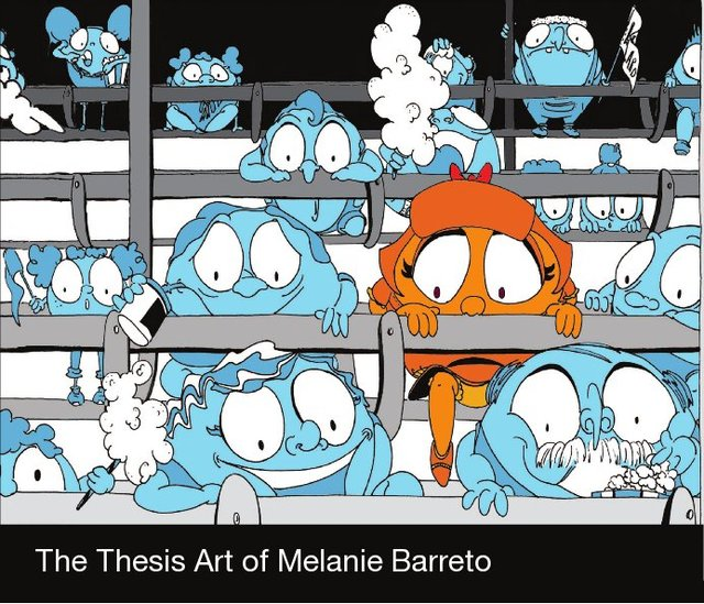 The Thesis Art of Melanie Barreto