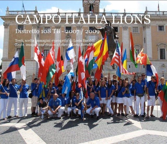 CAMPO ITALIA LIONS Distretto 108 TB - 2007 / 2009