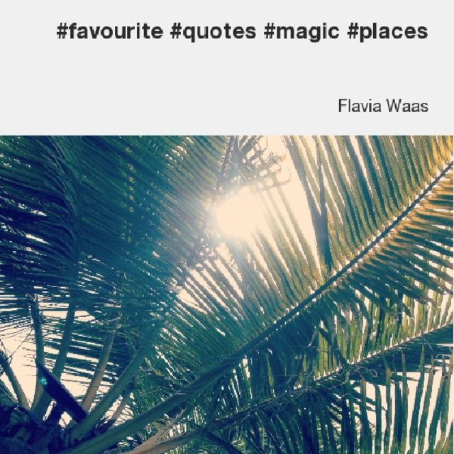 #favourite #quotes #magic #places