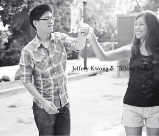Jeffrey Kwong &amp; Tiffany Yang