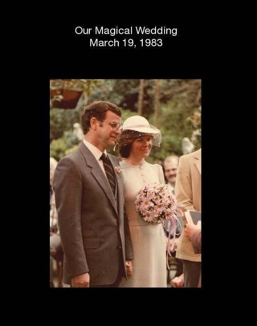 Our Magical Wedding March 19, 1983