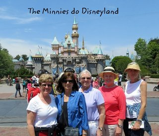 The Minnies do Disneyland 2013