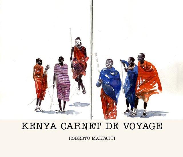 KENYA CARNET DE VOYAGE
