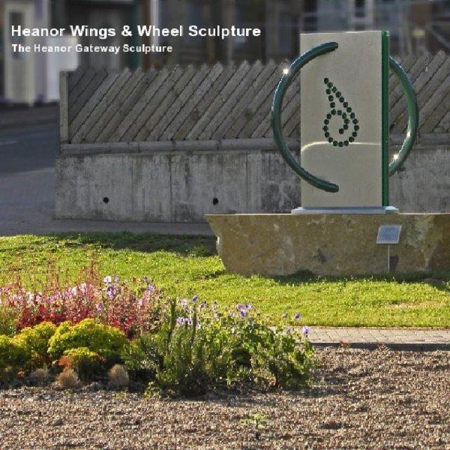 Heanor Wings & Wheel Sculpture