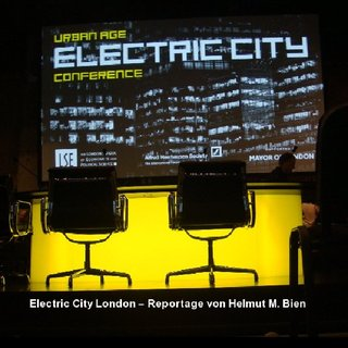 Electric City London – Eine Reportage von Helmut M. Bien