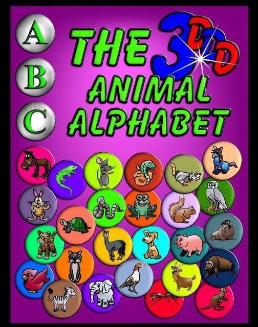 The 3DDD Animal Alphabet