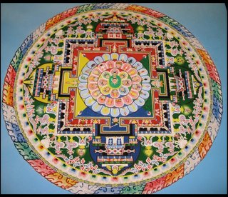 The Making of 2 Sand Mandalas by 5 Monks in 5 Days