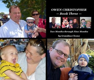 OWEN CHRISTOPHER  Book Three 