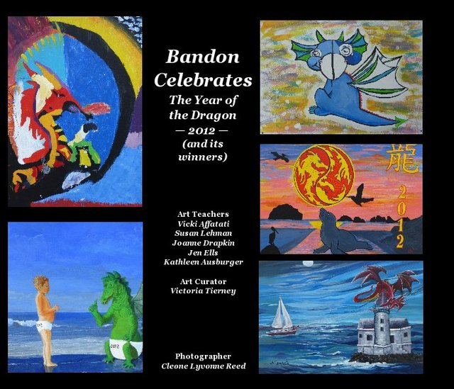 Bandon Celebrates The Year of the Dragon — 2012 — (and its winners)