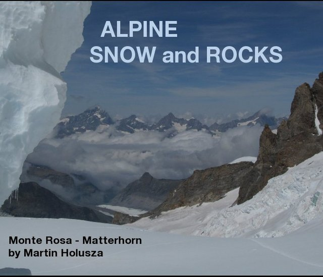ALPINE SNOW and ROCKS