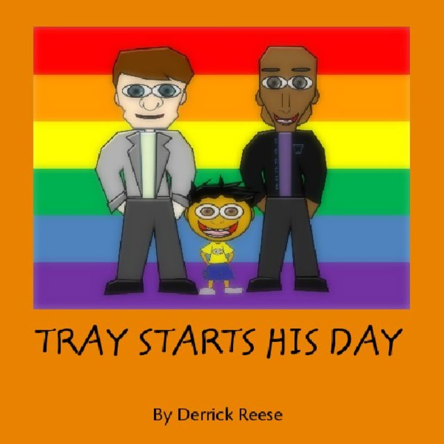 TRAY STARTS HIS DAY