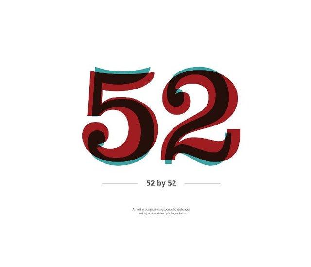 52 by 52 – Members' Book