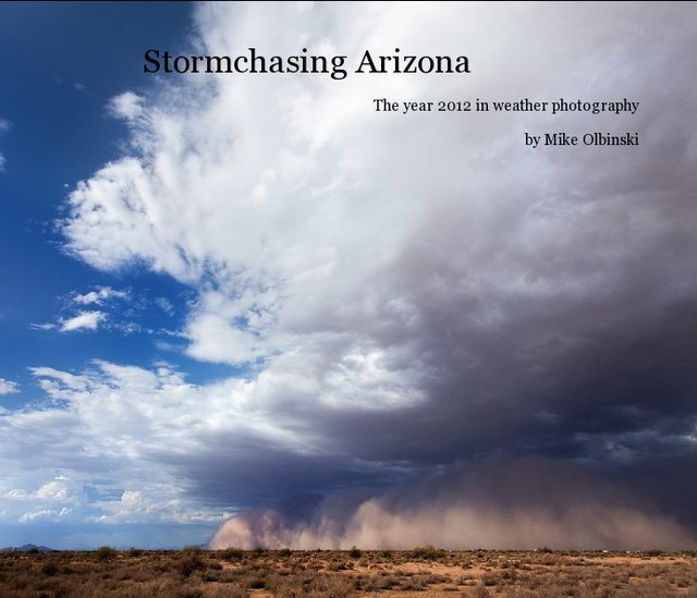 Stormchasing Arizona