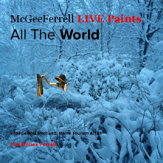 McGeeFerrell LIVE Paints All The World