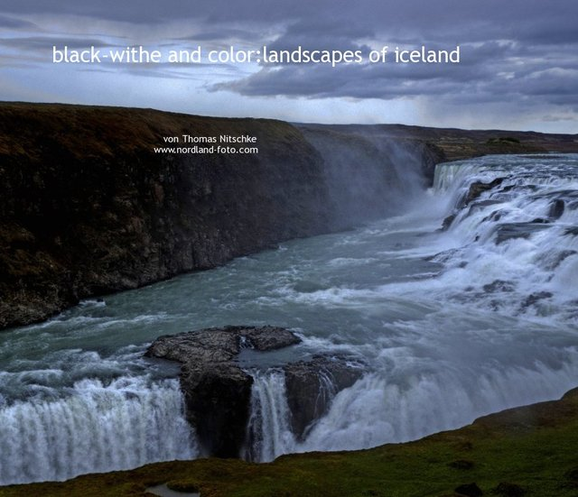 black-white and color:landscapes of iceland