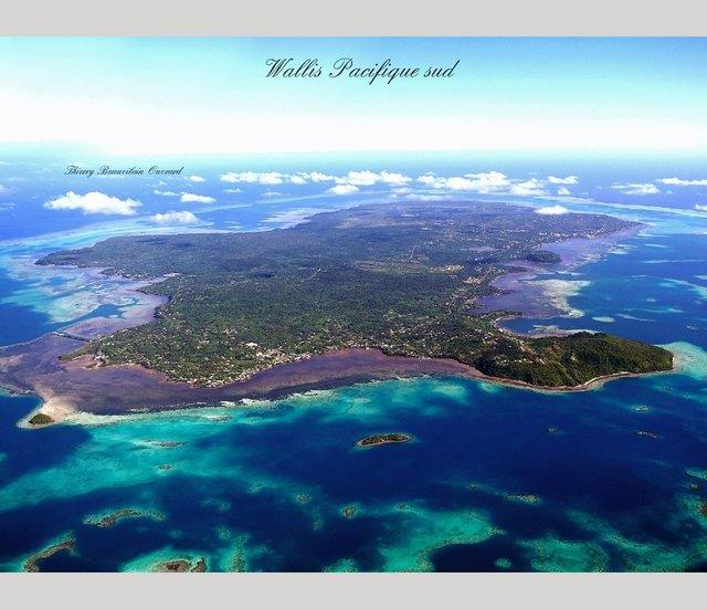 Wallis Pacifique sud