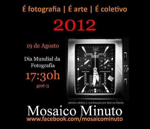 Mosaico Minuto 2012