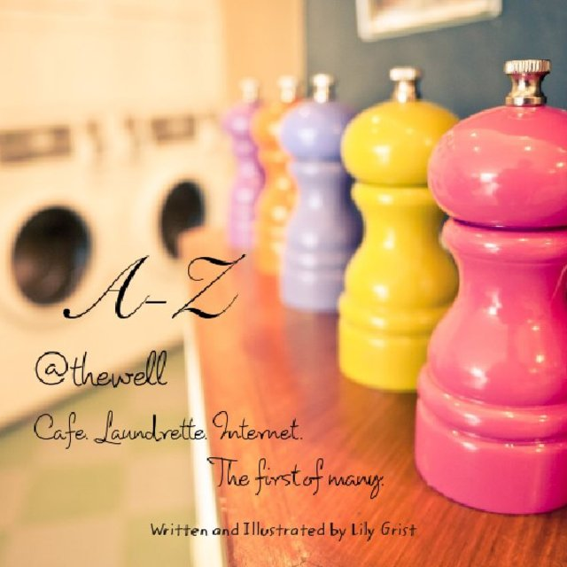 A-Z @thewell Cafe. Laundrette. Internet.