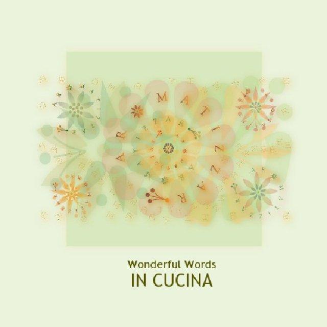 Wonderful Words IN CUCINA