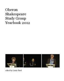 Oberon Shakespeare Study Group Yearbook 2012