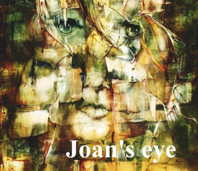 Joan's eye