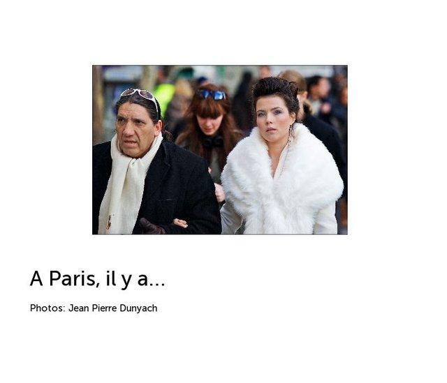 A Paris, il y a...