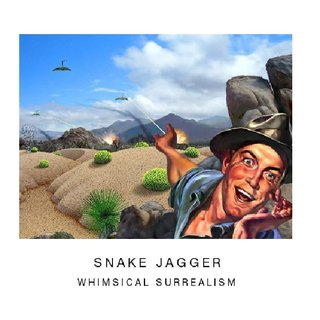 Snake Jagger Whimsical Surrealism