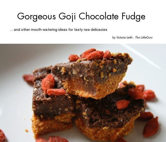 Gorgeous Goji Chocolate Fudge