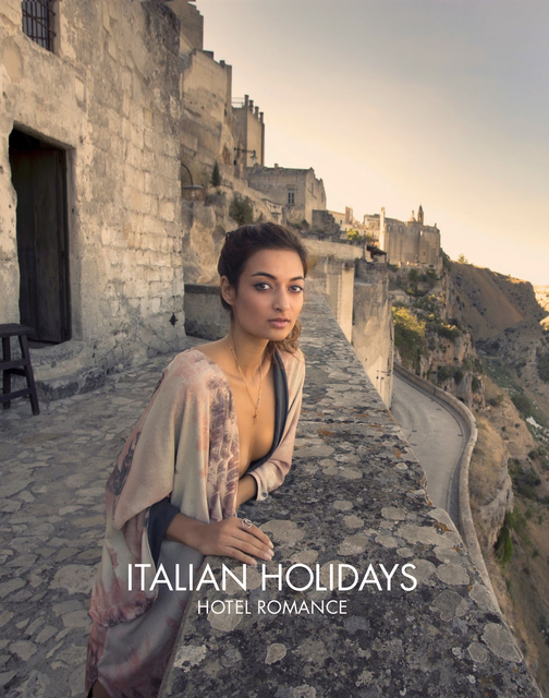 Italian holidays Hotel romance
