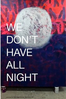 We Don't Have All Night Ebook