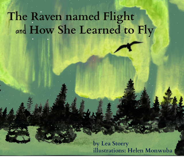 The Raven named Flight and How She Learned to Fly
