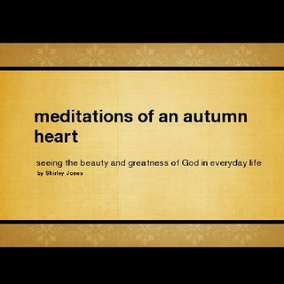 meditations of an autumn heart
