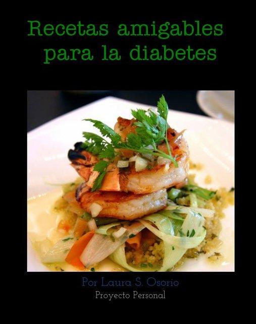 Recetas amigables para las personas diabeticas | Blurb Books