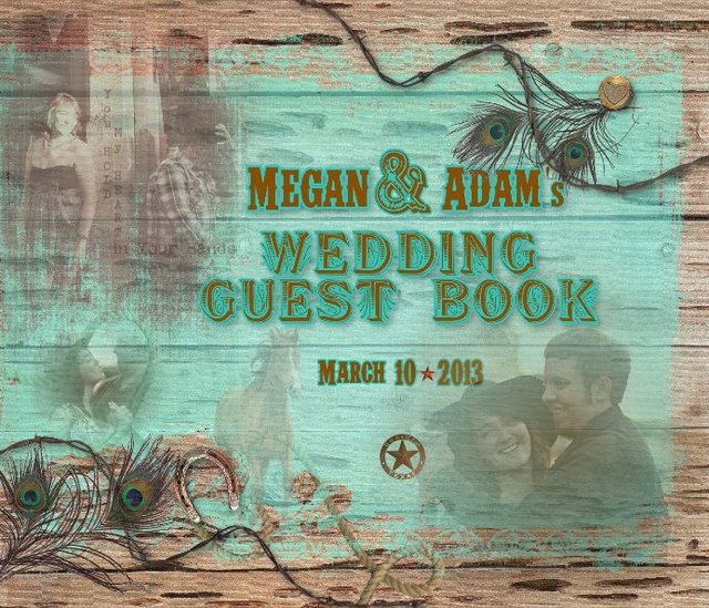 Megan & Adam's Wedding Guest Book