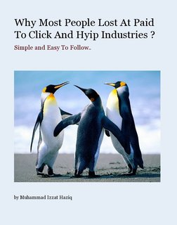 Why Most People Lost At Paid To Click And Hyip Industries ?