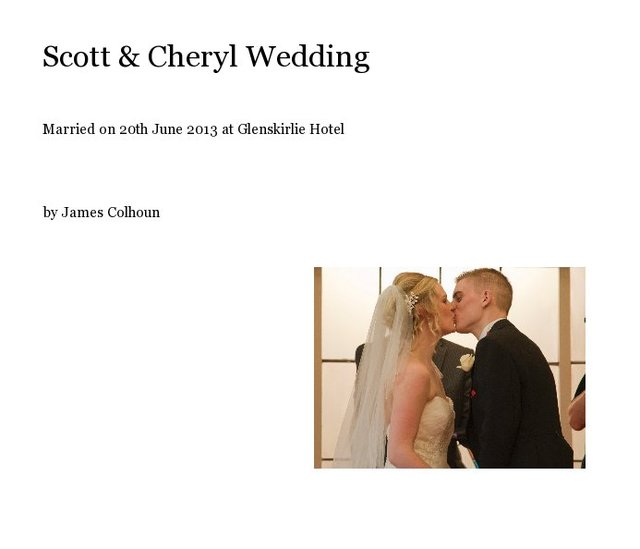 Scott & Cheryl Wedding