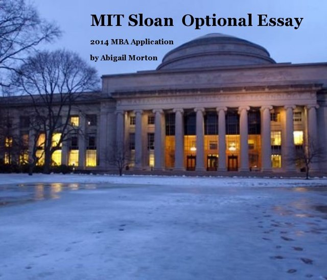 Sloan mit essay Term paper Academic Writing Service fhpaperyfli ...