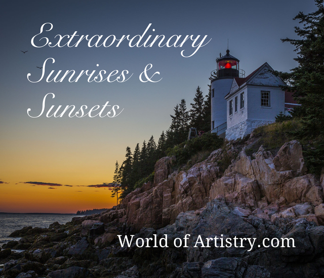 Extraordinary Sunrises and Sunsets