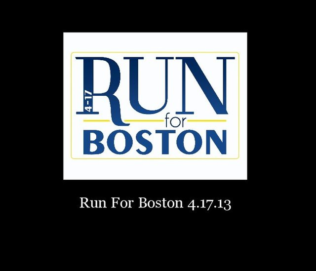 Run For Boston 4.17.13