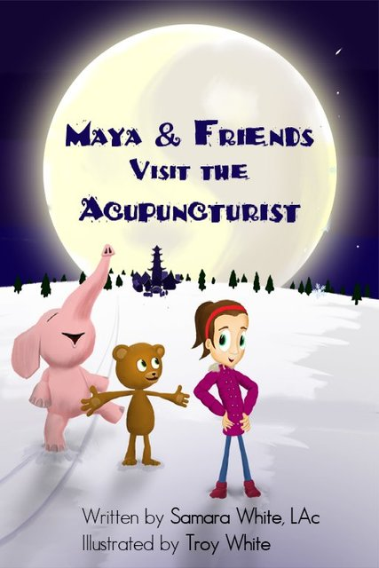 Maya & Friends Visit the Acupuncturist