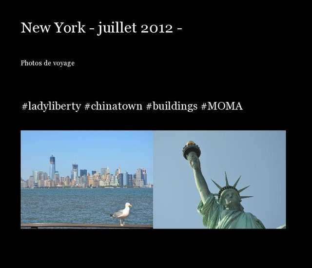 New York - juillet 2012 -
