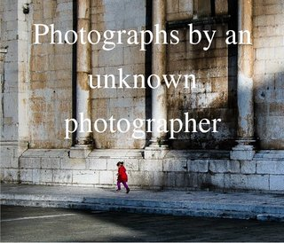 Photographs by an unknown photographer