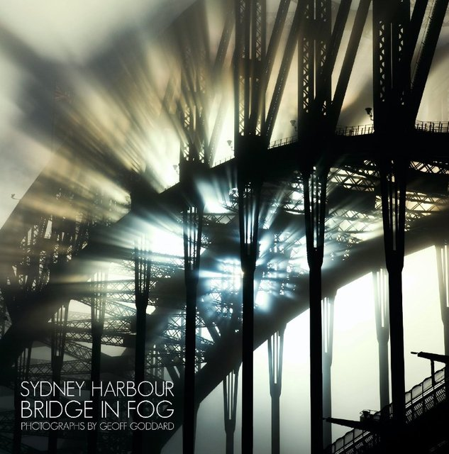 Sydney Harbour Bridge in Fog